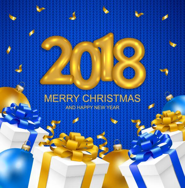 Weihnachten Stoff Neu Jahr Geschenk 2018