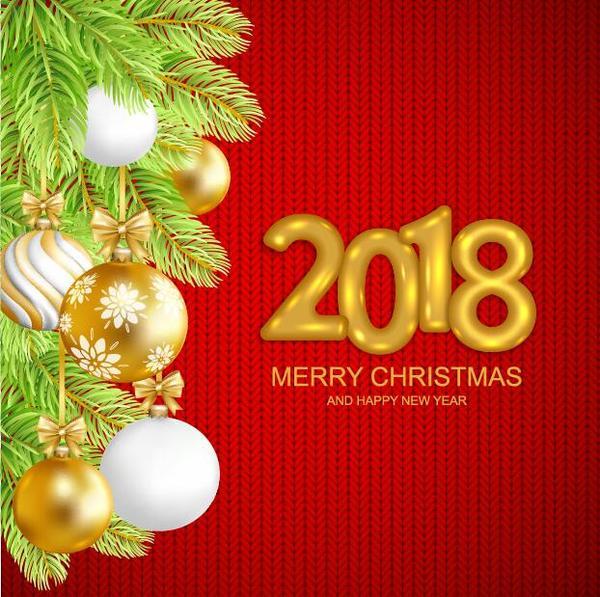 Weihnachten Stoff rot Neu Jahr 2018