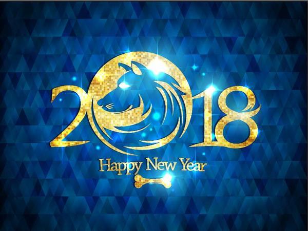 Nuovo cane blu anno 2018