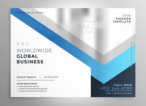 2020 Moderne Business Vorlage Vektoren 06 Welovesolo