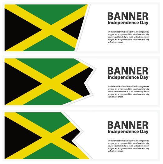 Jamaïque Bannière