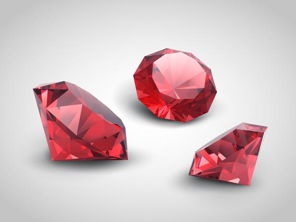 rot Diamant