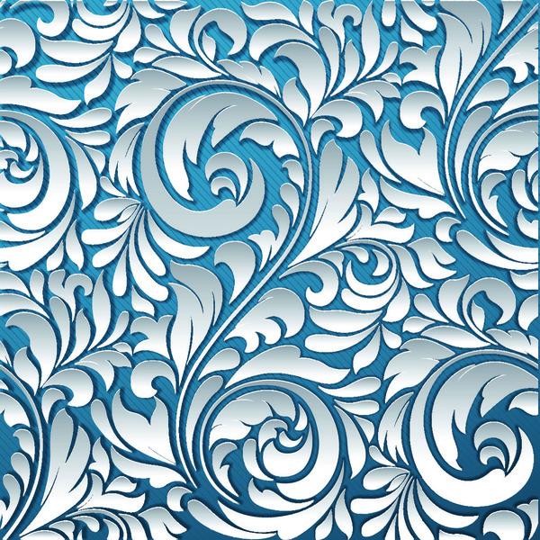 Taglio modello Floreale carta