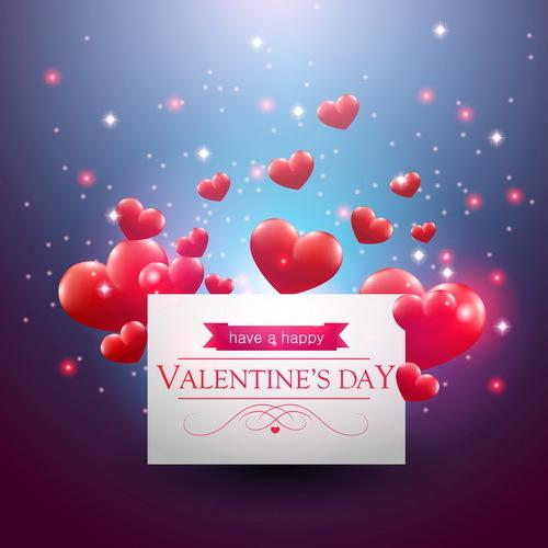 San Valentino giorno cuore carta