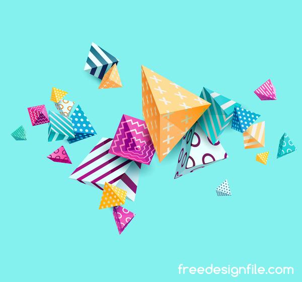 triangolo Floreale