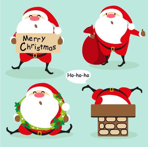 santa Natale divertente