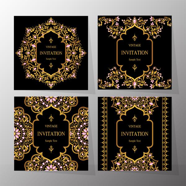 ornamenti invito carta