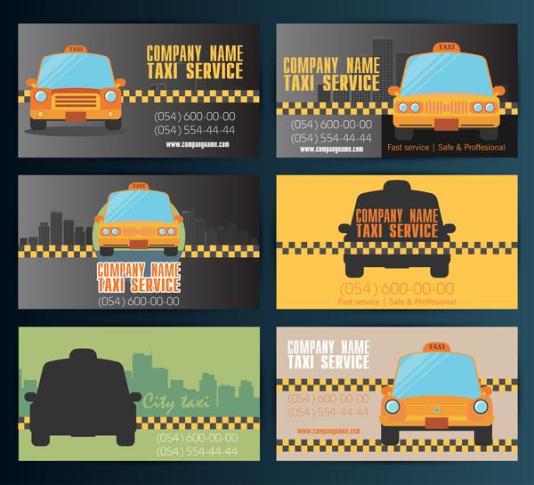 Verksamhet taxi kort
