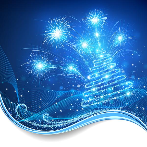 xmas träd kort jul Abstrakt