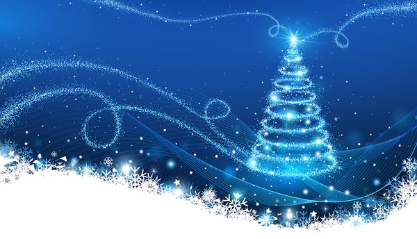 xmas resume Noel carte arbre