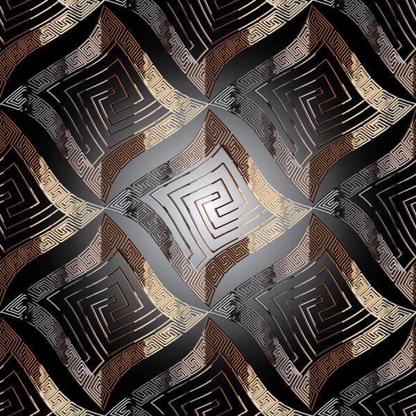 抽象的な 古典的な パターン シームレス
