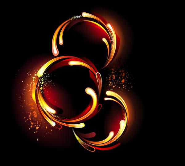 flame fire anneau
