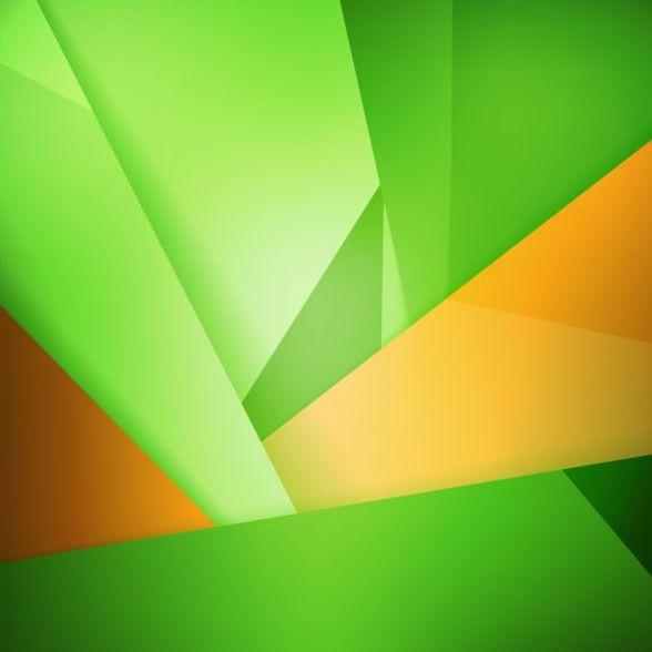 konst grön Abstrakt