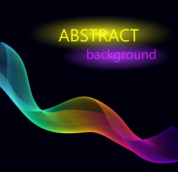 våg ljus Effekt Abstrakt