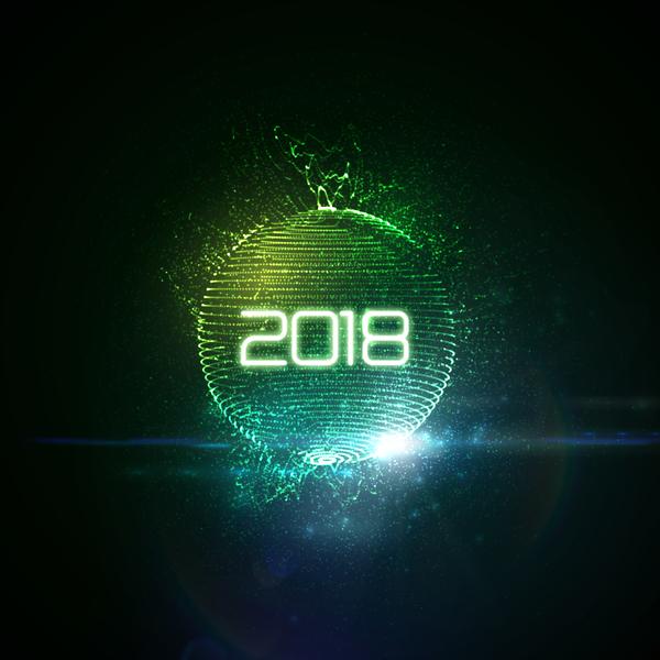 sfären nya ljus ar Abstrakt 2018