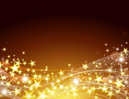 stjärnor brun Abstrakt