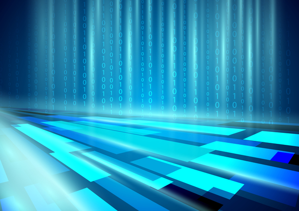 Technologie resume digital concept