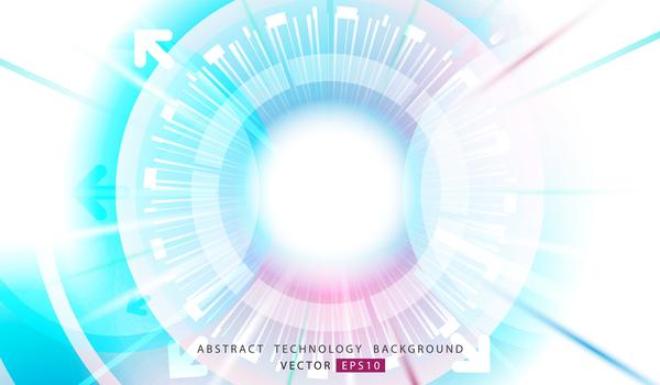 Technologie Géométriques circle Abstrait