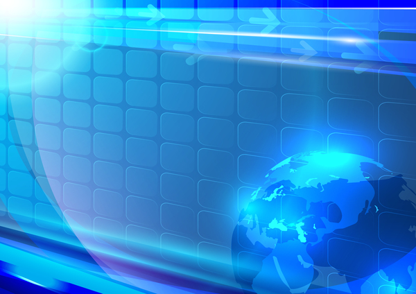 Technologie mondiale Abstrait