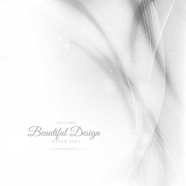 ondulés lignes blanc Abstrait