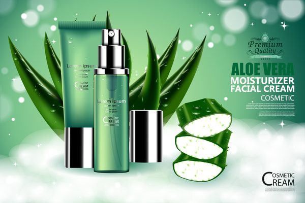 vera rame poster cosmétique Aloe