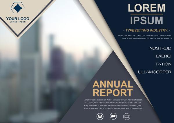 rapport cover broschyr årliga
