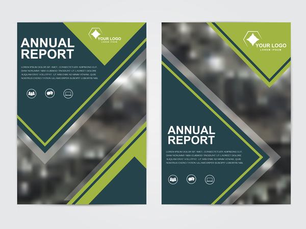 Geschäftsbericht cover Broschüre Bericht