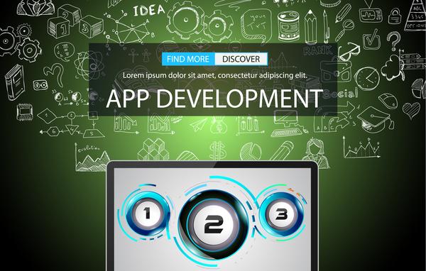 infographic develppment app
