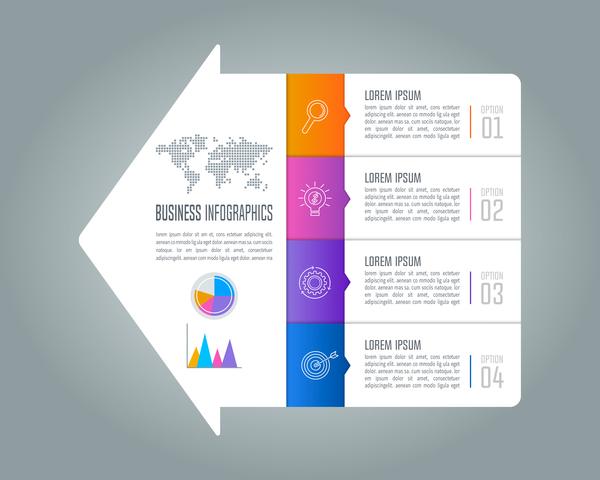 Pfeil Infografik business