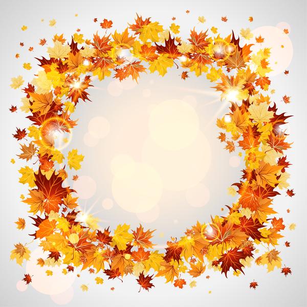 le cadre laeves l'automne