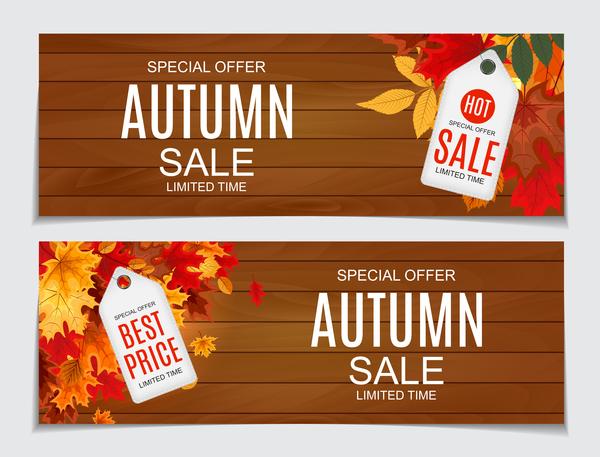 Verkauf Stichwörter Herbst banner