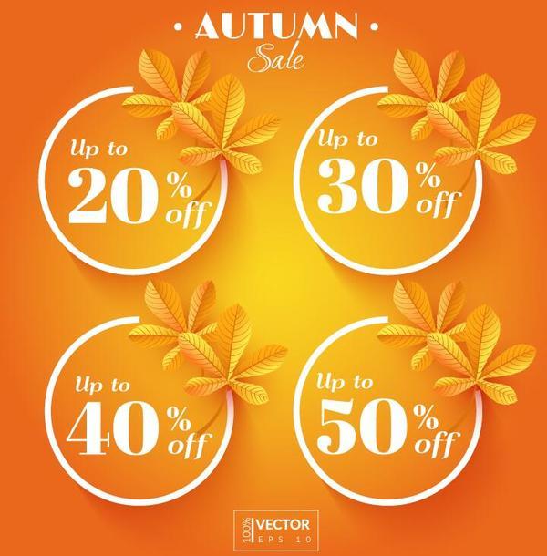 vente étiquettes discount automne