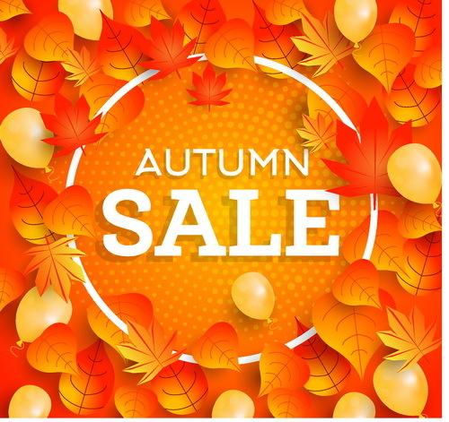 vente l'automne de feuilles de châssis