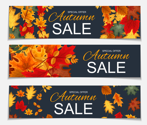 speciale offrire banner autunno