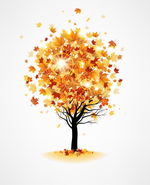 träd löv host