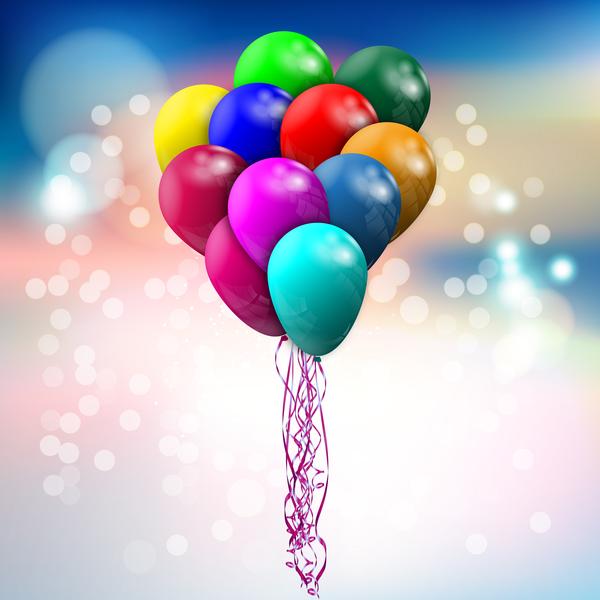 bokeh ballon