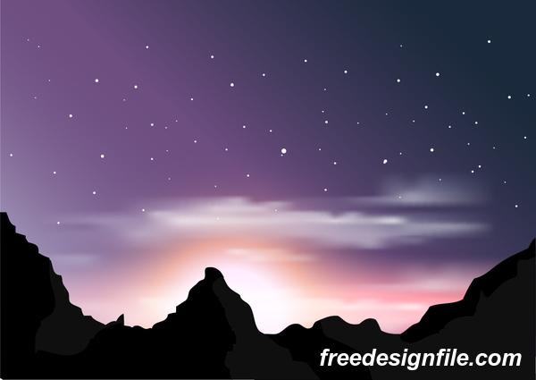 paysage montagne Magnifique