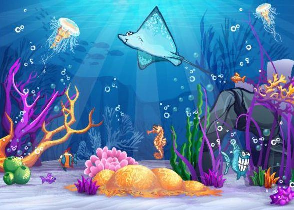 undervattensvärlden eautiful