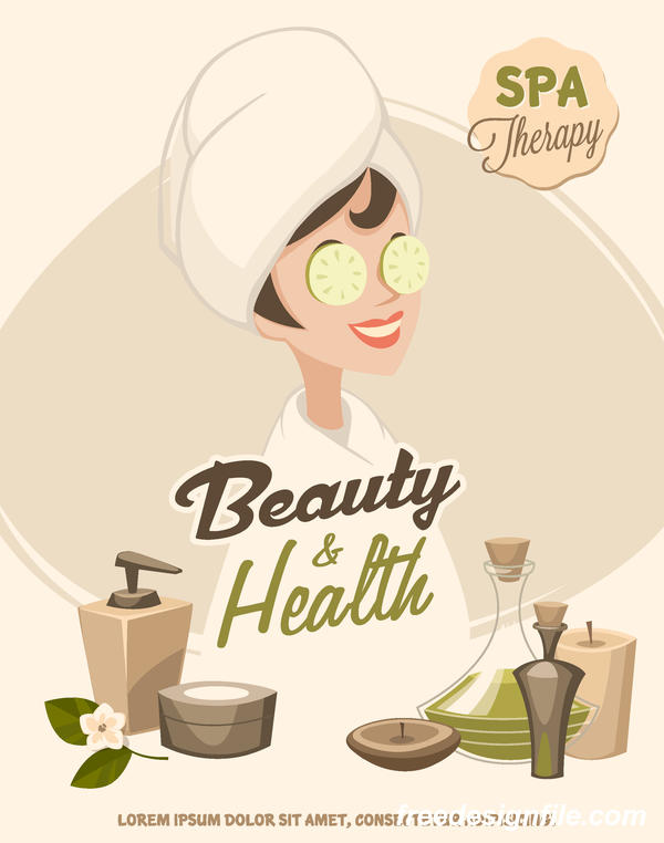 spa poster health beauty