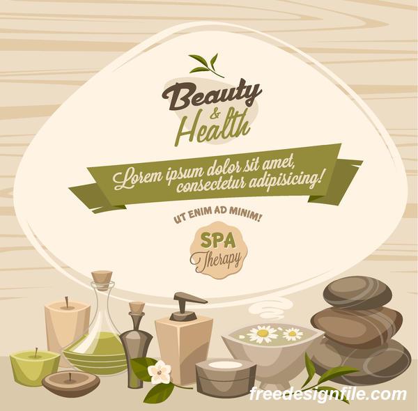 spa Santé poster beauté