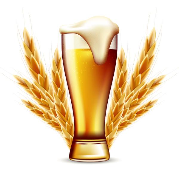 、ビール、小麦