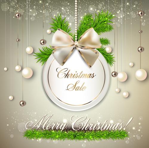 Natale decorazioni carta beige