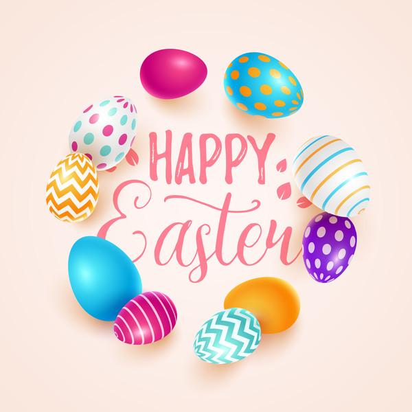 Ostern Ei beige
