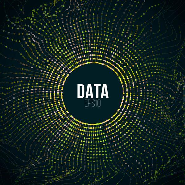 tech große Daten Abstrakt