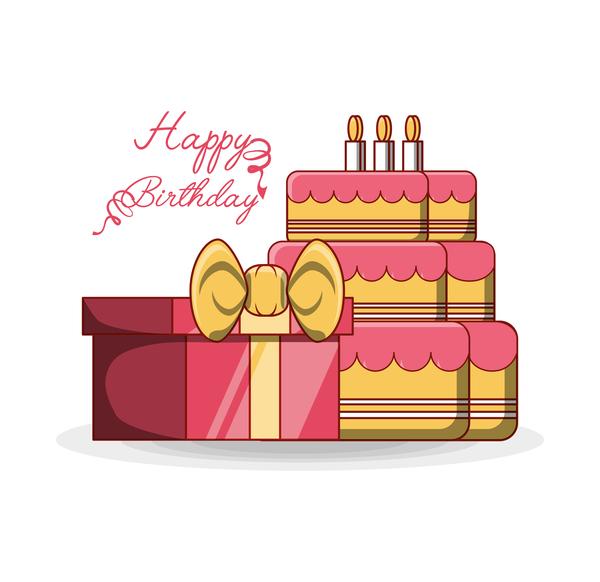 tårta happy birthday Födelsedag