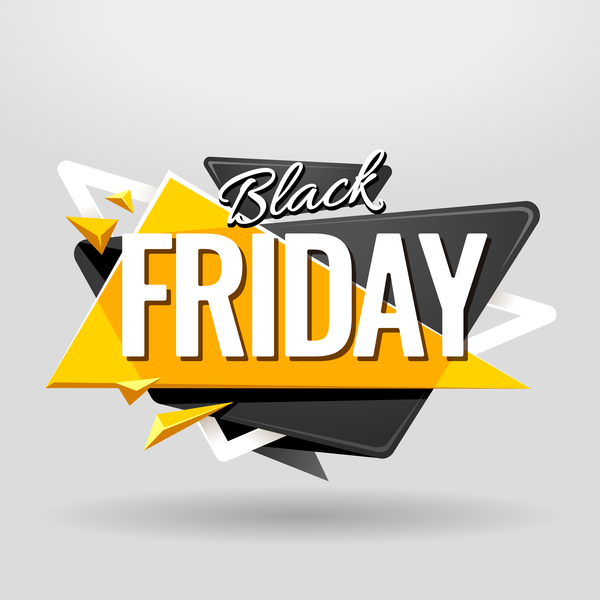vendredi Black friday Bannière