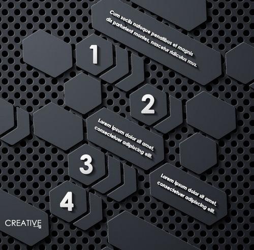 noir metal infographie