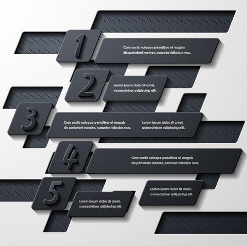Nero Metallo infografica bianco