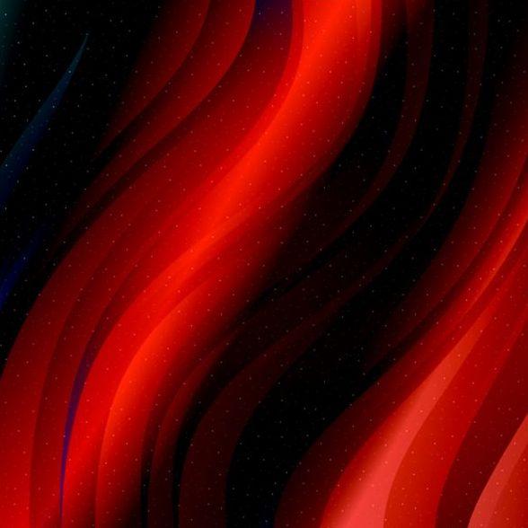 、赤、黒、線波