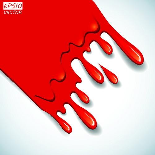 goccia effetto di sangue